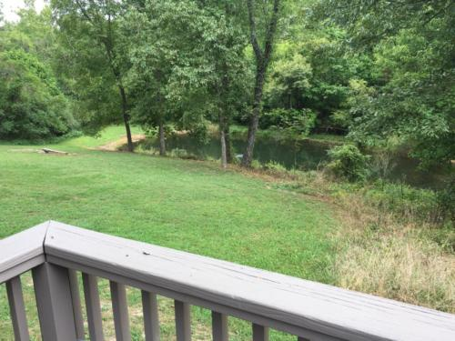 Deck view of pond & valley