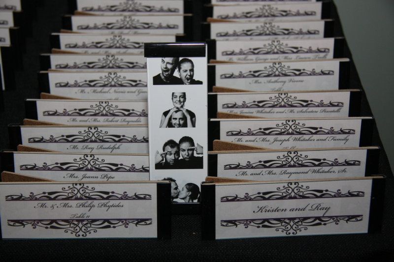 Photo Booth Frame Place Card
