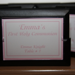 Mirror Compact placecard