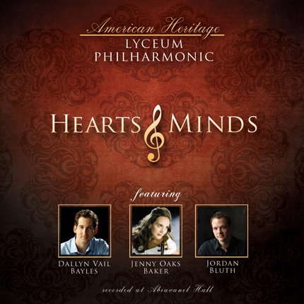 Lyceum Philharmonic CD _ Hearts and Minds
