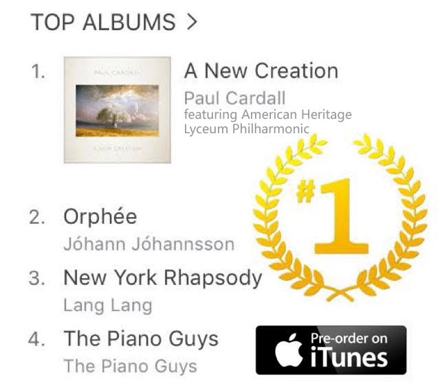Lyceum Philharmonic Hits No. 1 on the Charts for 2nd time