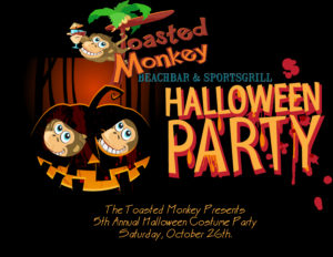 Halloween Party @ The Toasted Monkey