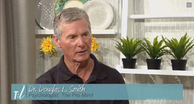 Dr. Douglas Smith, Psychologist, Cobourg Ontario Canada. Psychology, Sports Pscyhology