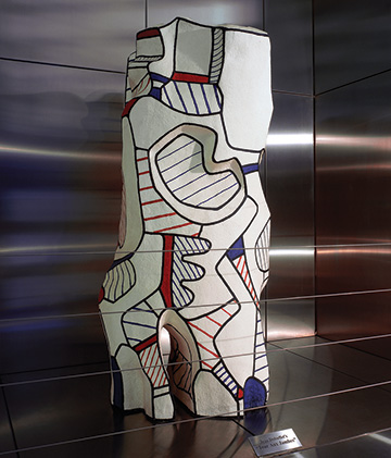 Tour Aux Jambes by Jean Dubuffet