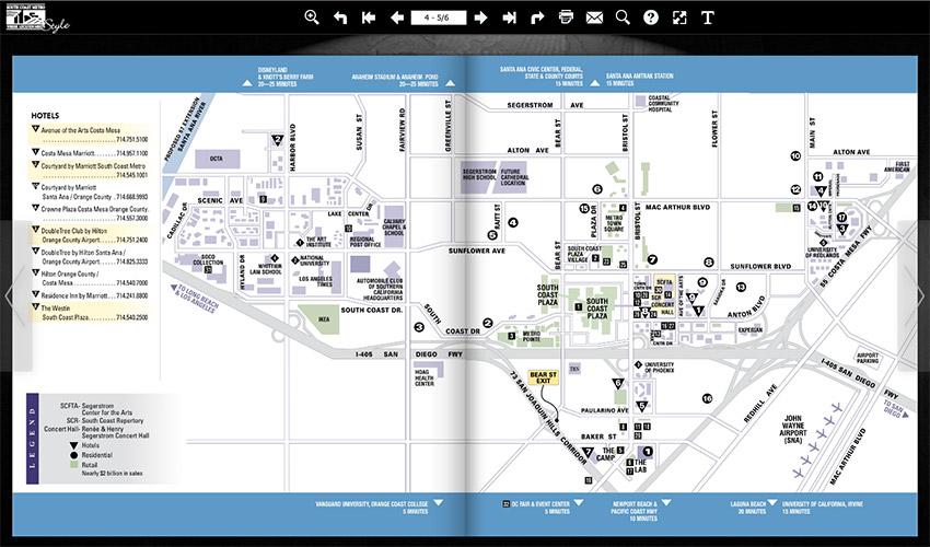 South Coast Metro Directory