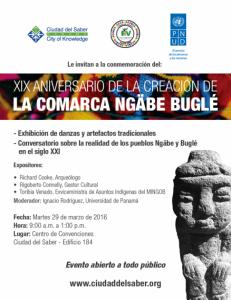 19 aniversario de creación de la comarca Ngäbe-Buglé @ Centro de Convenciones de la Ciudad del Saber