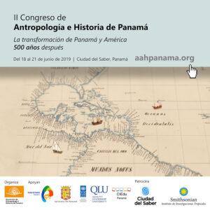 II Congreso de Antropología e Historia de Panamá 2019 @ Centro de Convenciones, Ciudad del Saber | Panamá | Panamá | Panamá