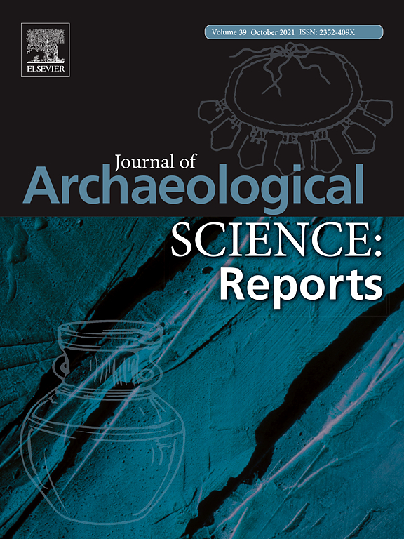 Journal of Archaeological Science: Reports