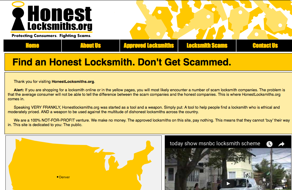 Honest Locksmith.org