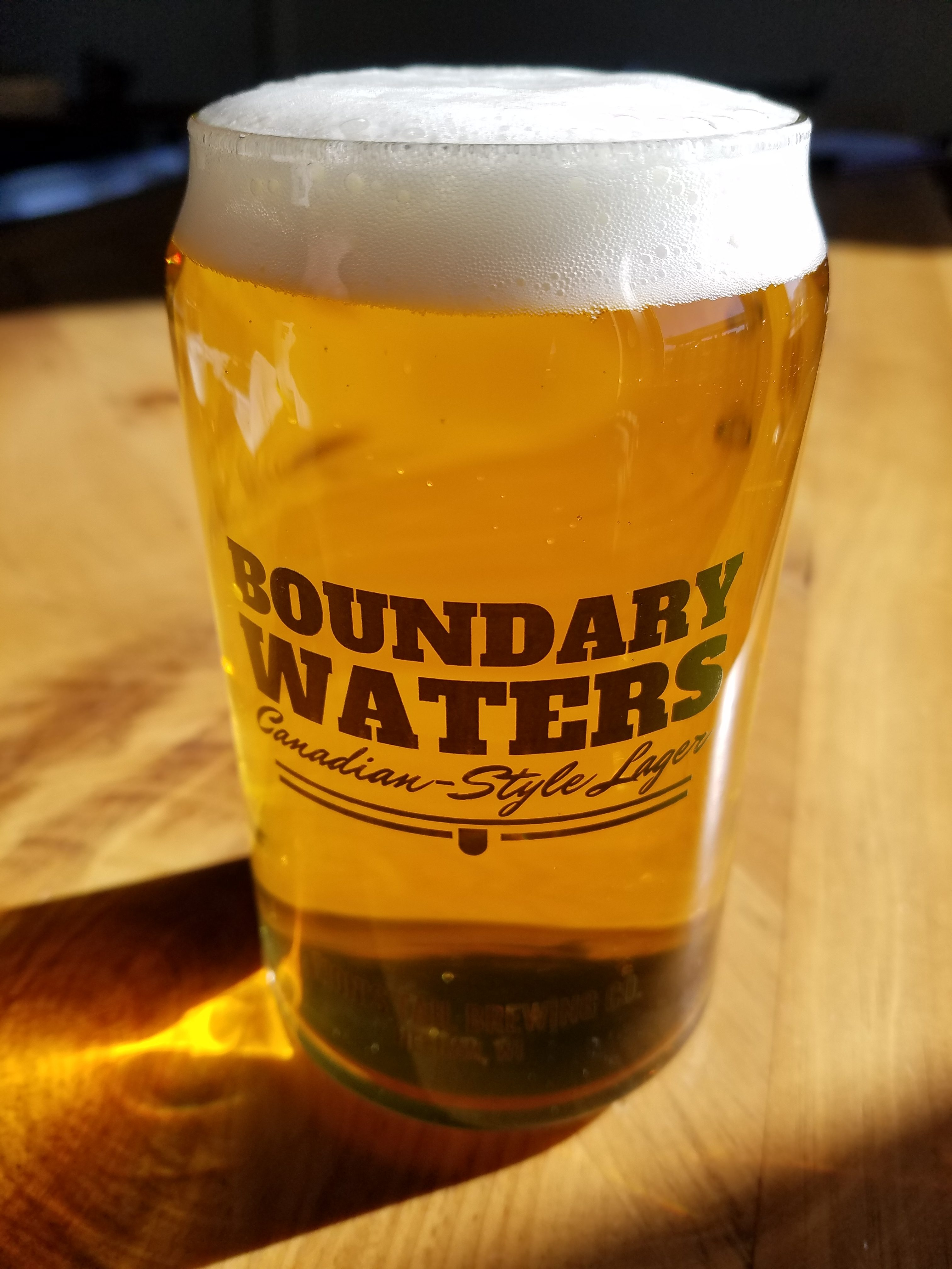 Boundary Waters – Canadian-Style Lager