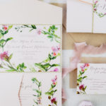 wedding invitation sample pocket