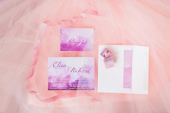 Pretty in Pink wedding inspiration