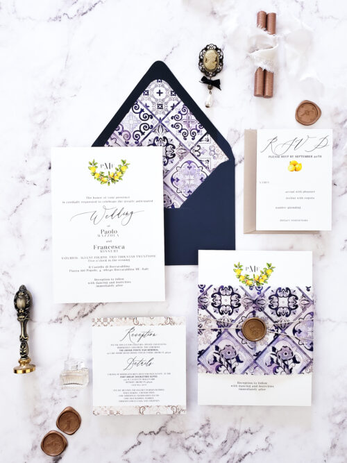 italian vellum wedding invitations