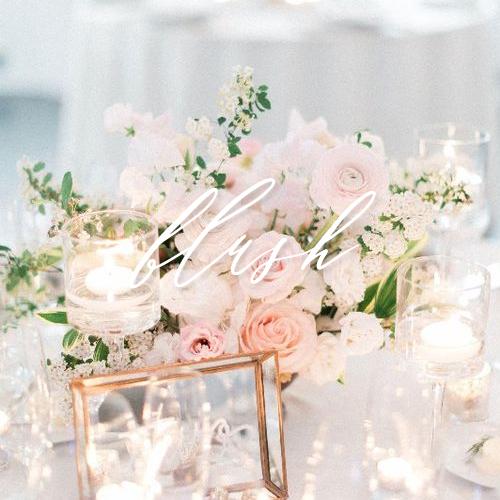 wedding invitations blush