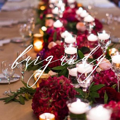 wedding invitations burgundy