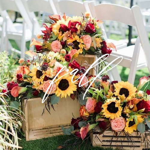 wedding invitations fall