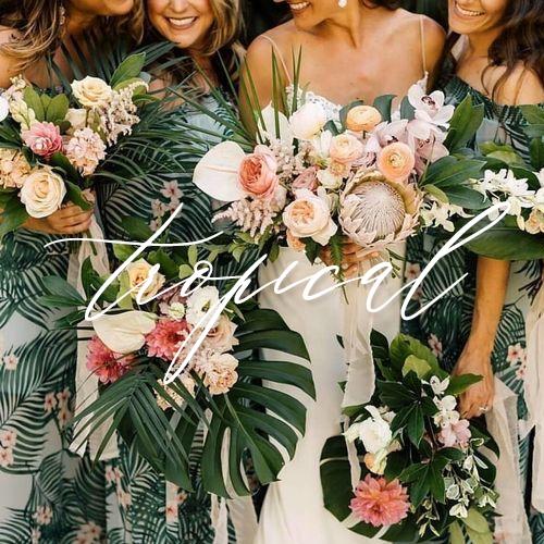 wedding invitations tropical