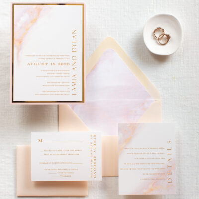 Marble wedding invites, blush marble effect wedding invitation suite, invitations for wedding