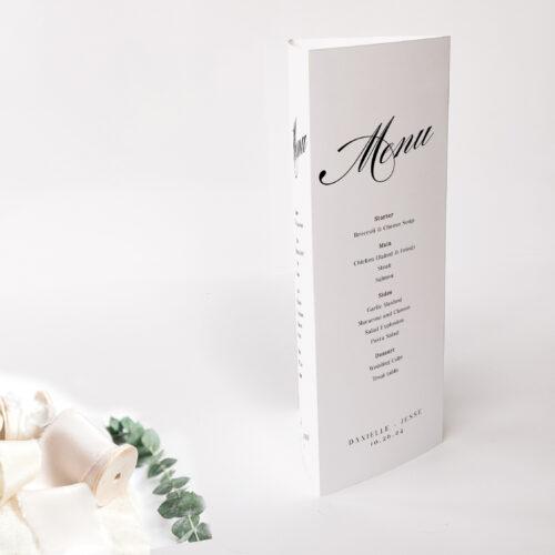 trifold menu