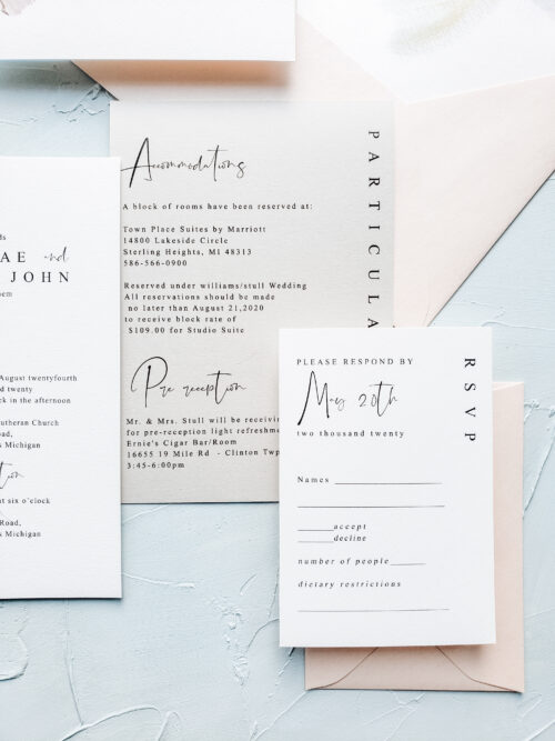 modern wedding cards