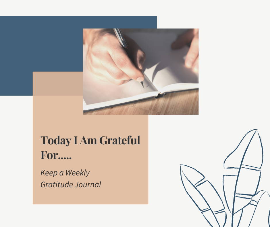 How to Keep a Weekly Gratitude Journal