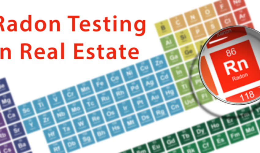 Radon Testing in Real Estate