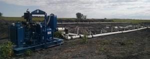 drain set up