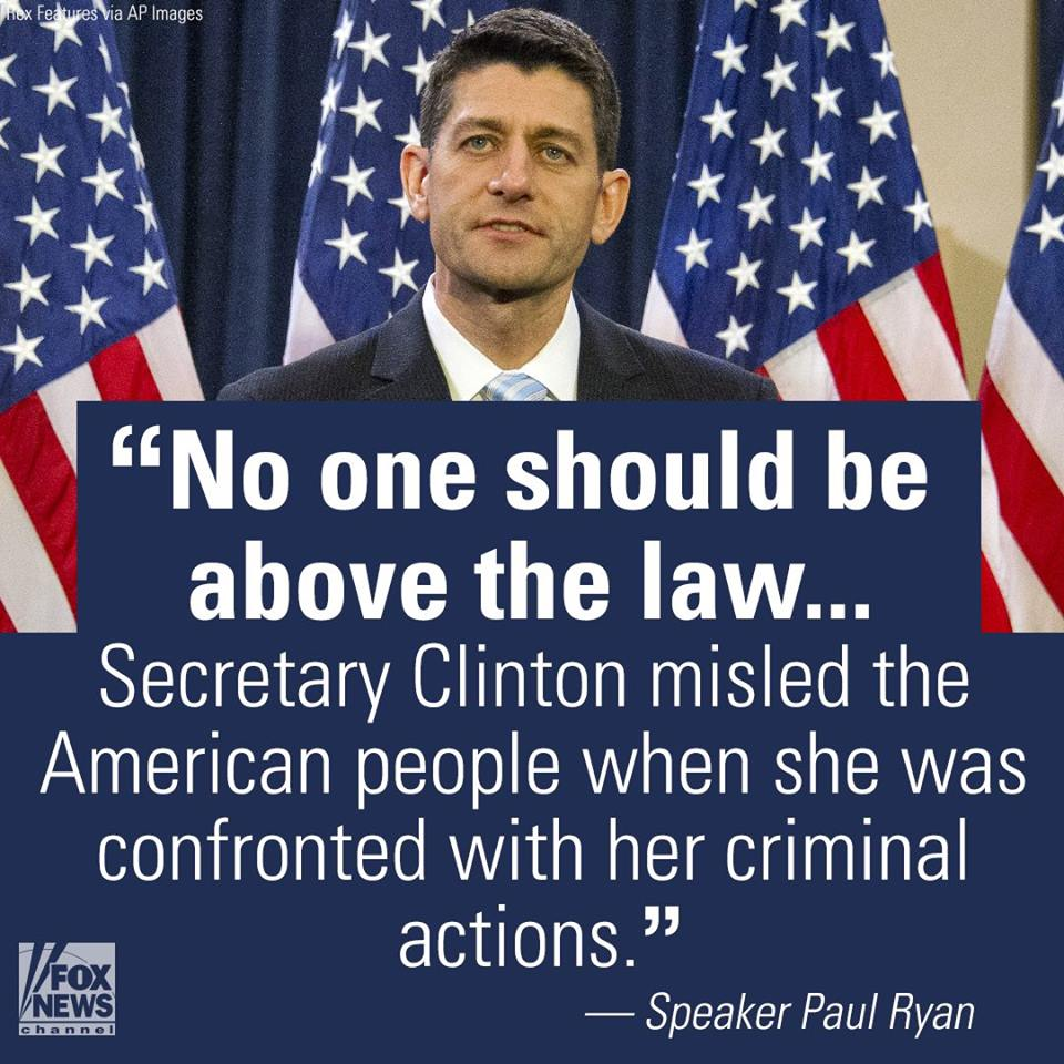 PAUL RYAN COMMENTS