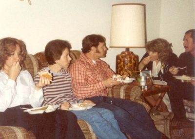 Audrey, Dory, Dennis, Kathy and Ron