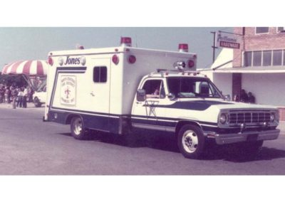 Biola Parade - Jones ambulance