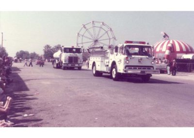 Biola Parade - NCFD firetrucks