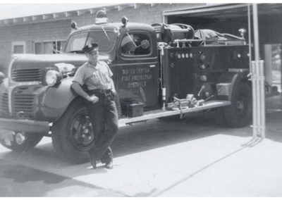 Bob Wagner's first fire truck