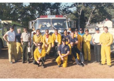 Greely hill fire crew