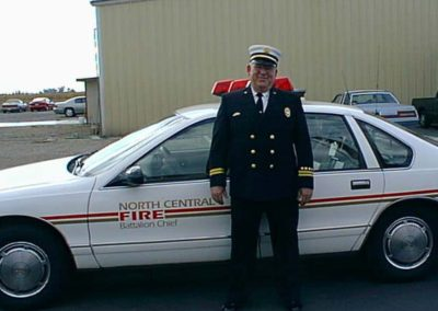 Ken Shirtliff with bc car