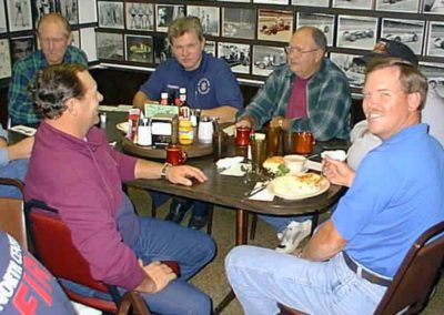 Ken's retirement breakfast