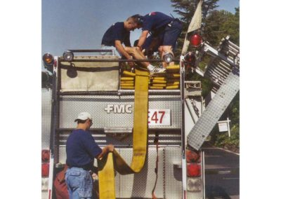 Loading hose on E47