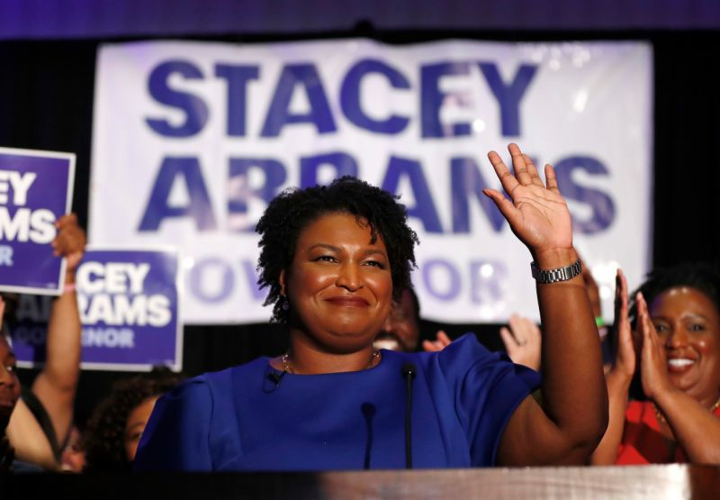 Women, Stacey, Abrams, Election