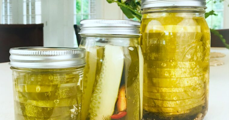 Classic Dill Pickles