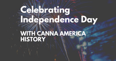 Celebrating Independence Day with Canna America History