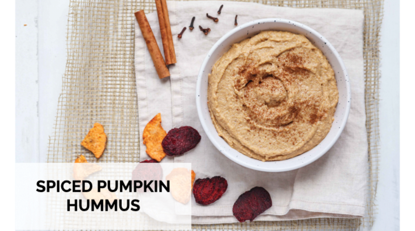 Spiced Pumpkin Hummus