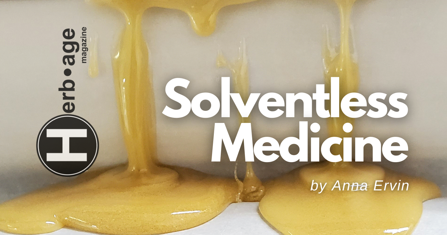 Solventless Medicine