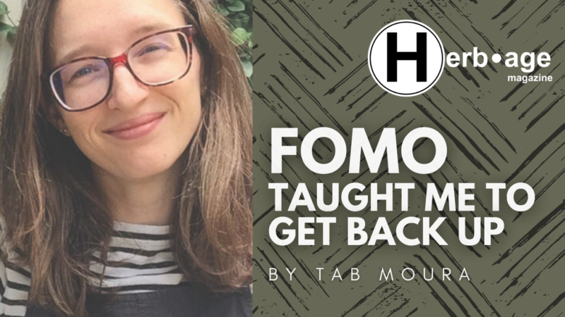 FOMO Taught Me to Get Back Up