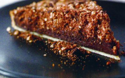 Crunchy pie a dessert winner