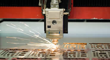 Laser Cutting at Cedar Lake Engineering