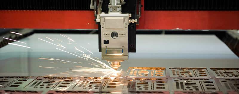 Laser Cutting at Cedar Lake Engineering