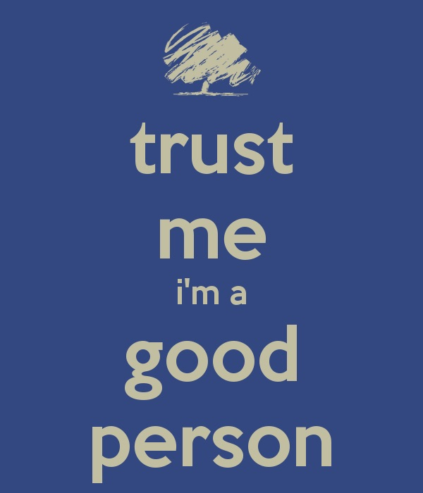I'm A Good Person, Damn It!