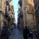 Hiking thru old Napoli.