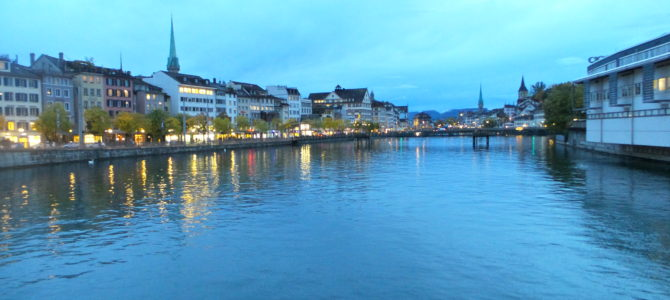 Zurich: Sleek & Expensive.