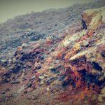 Lava rocks.