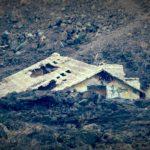 A buried house.